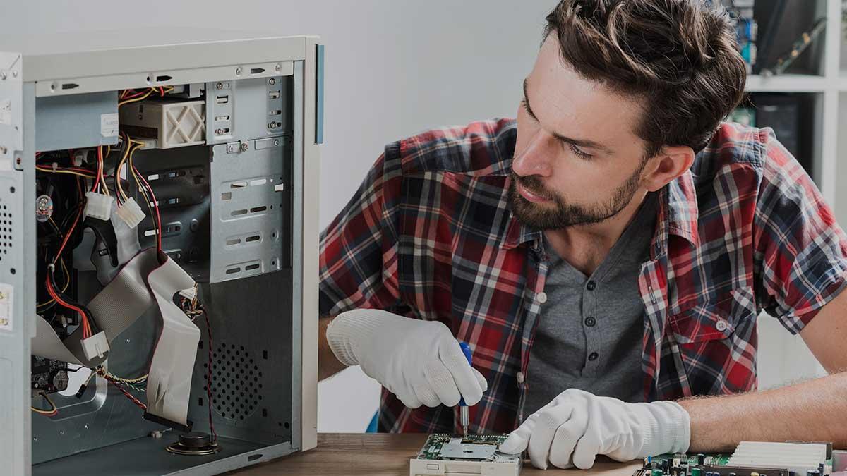 Arreglo de computadoras